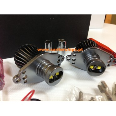 Pair of Leds BMW Angel Eyes E90/E91 20w Without Xenon headlight