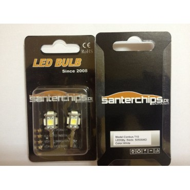 Pair of 12v LED's W5W 5SMD CANBUS