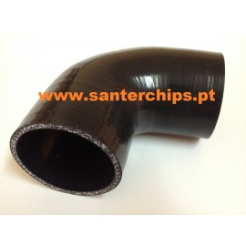 Curva 90º em Silicone 51mm STC Performance